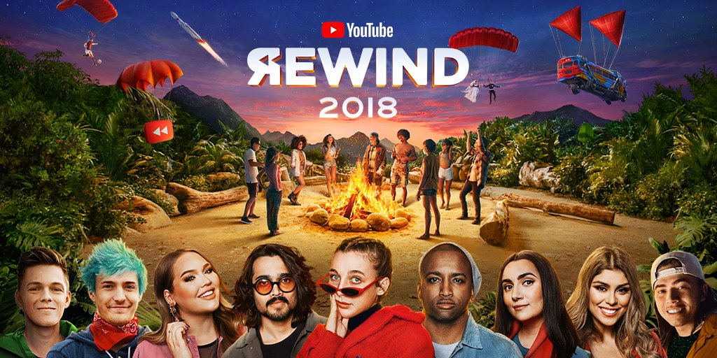 YouTube's photo on youtube rewind 2018