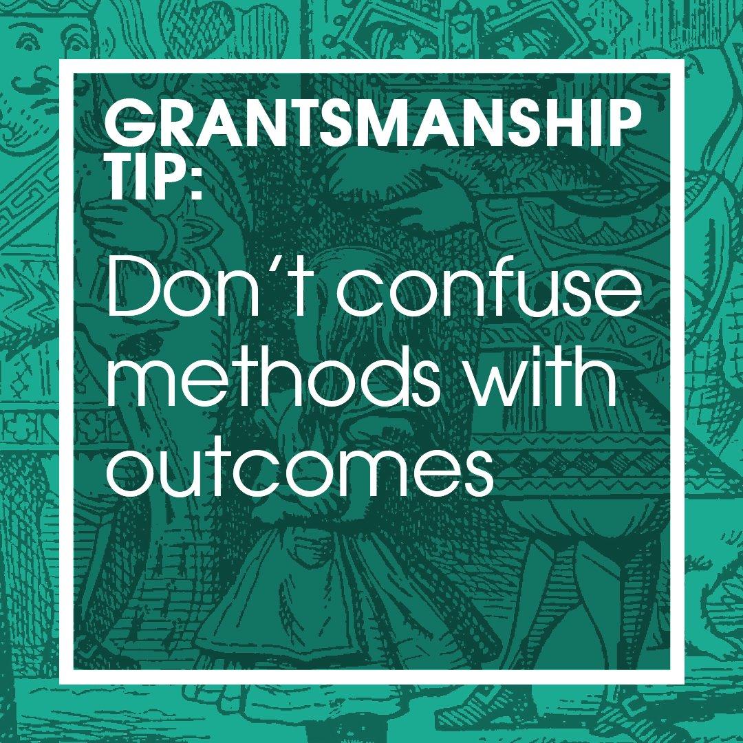 The Grantsmanship Center on Twitter: