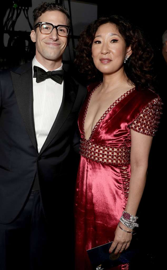 E Online Brasil On Twitter Page Cardio Sandra Oh E Andy