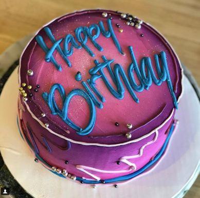 Happy Birthday Custom Made Cake View More At