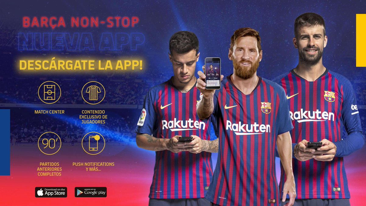 🖥📲 All about our new app and website. 🔵🔴 #ForçaBarça http://ow.ly/h2De30mTmhK