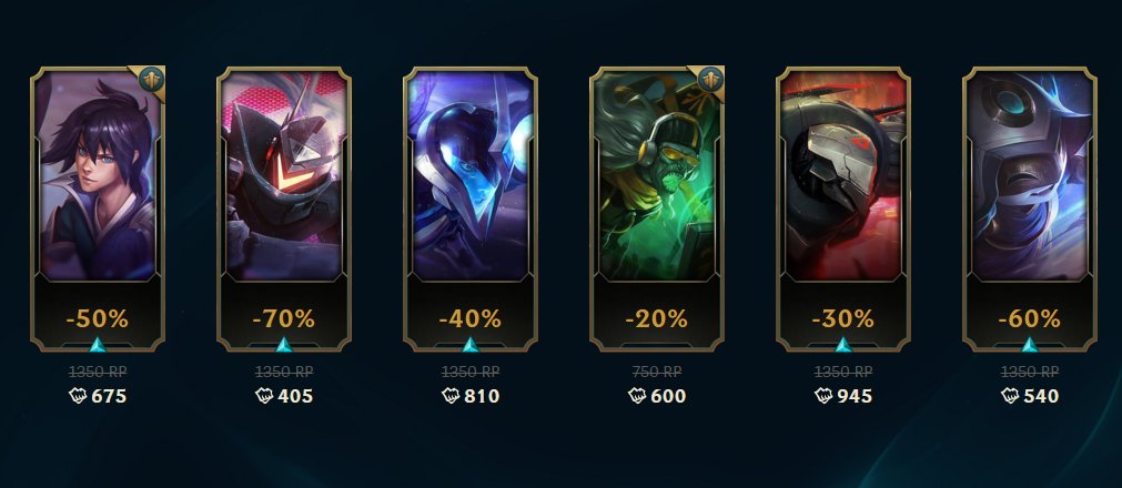 All fixed! I was hoping for Project Lucian 😍