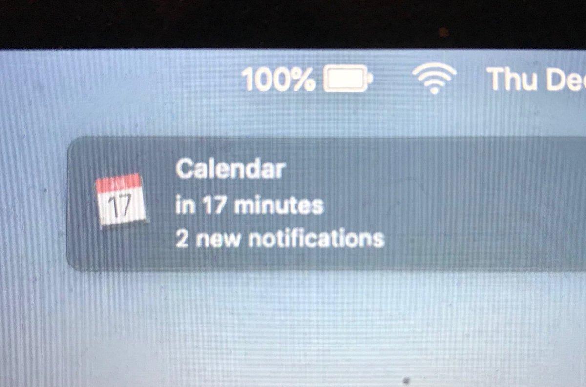 The world's least helpful notification