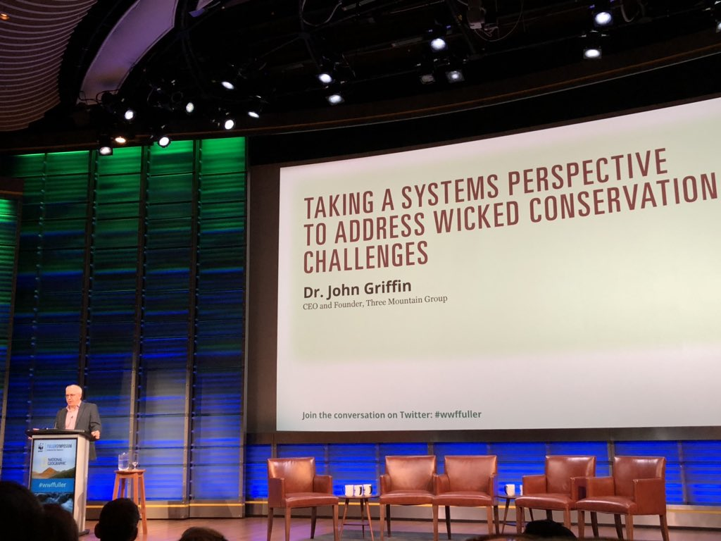 Discussing systems thinking and its potential impact on conservation efforts from the local to global scale @WWF @WWFCA_SciComm #wwffuller  A lot of work already ongoing in this area in the oceans, but more opportunities exist! <br>http://pic.twitter.com/tdKJmyNuRC