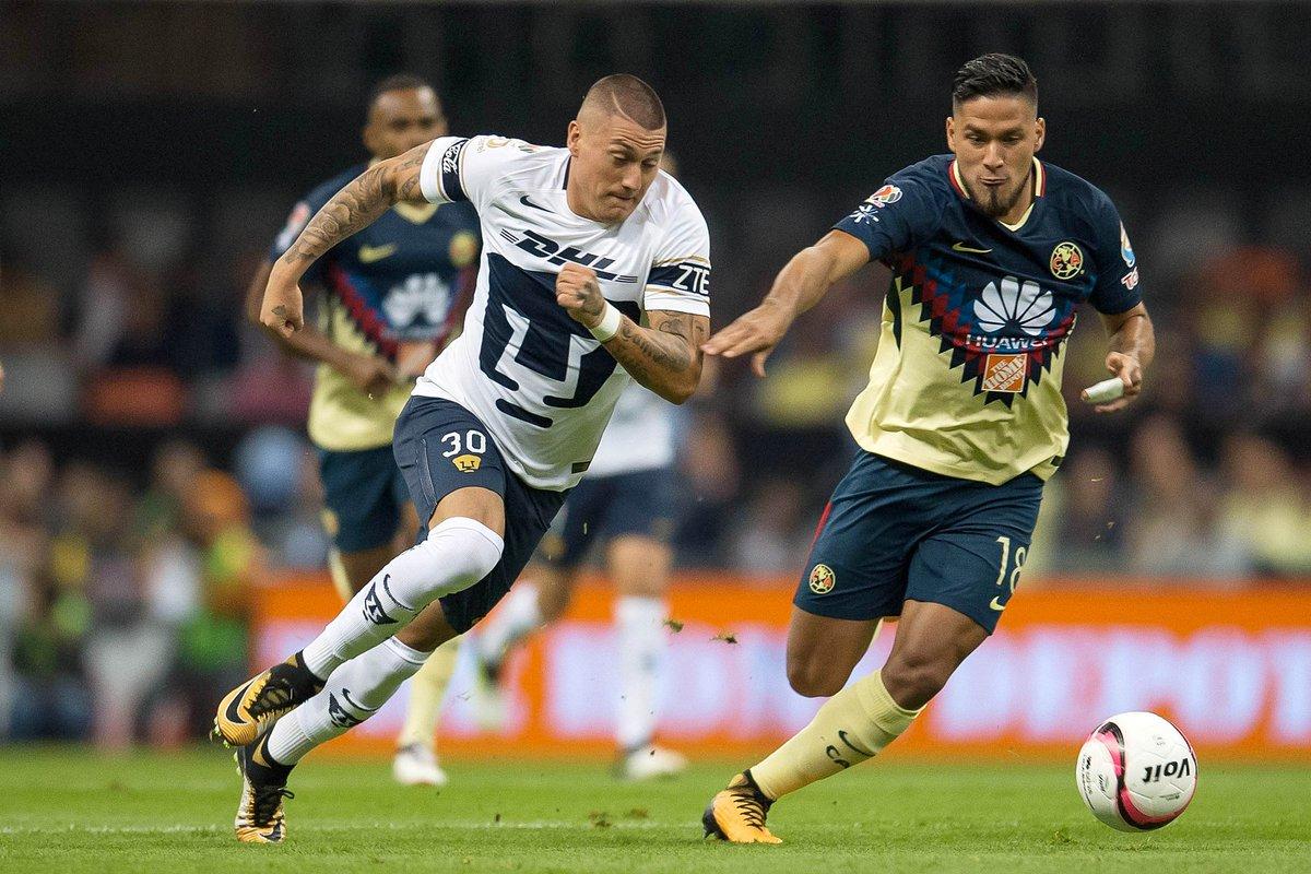 Pumas empato 1-1 en contra del América Semifinales Ida