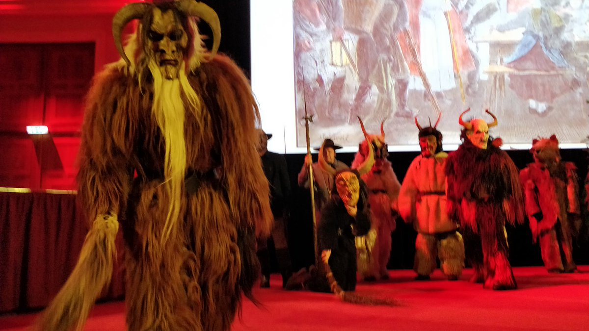 Creative Europe On Twitter Krampusnacht Is Celebrated On 5 Dec