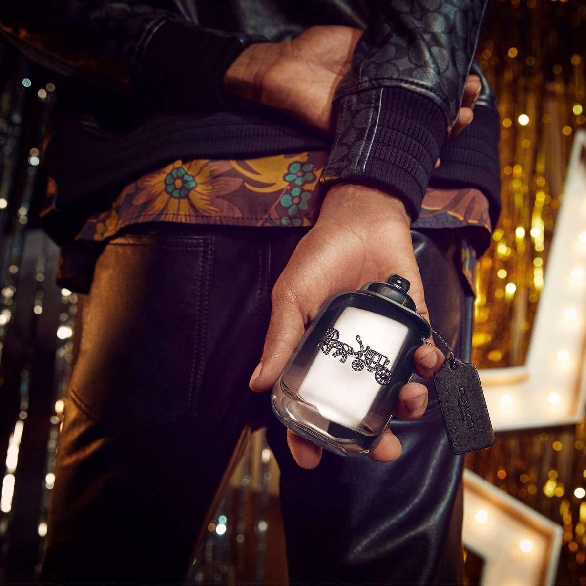 Coach Holiday goes Platinum with our new fragrance for him. #LightsCameraHoliday #CoachPlatinum #CoachNY  http://on.coach.com/ShopPlatinum