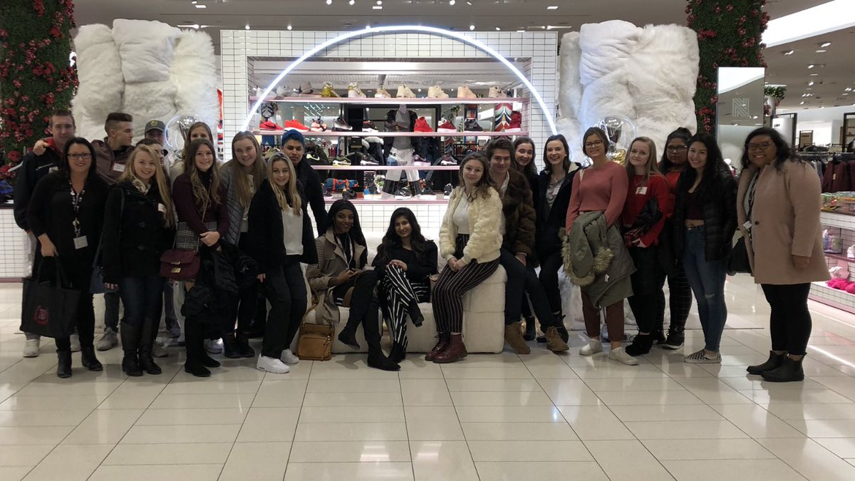 afc45565d07a2 BHS Fashion Design students visit Nordstrom s Flagship Michigan Ave store  to meet the merchandising team