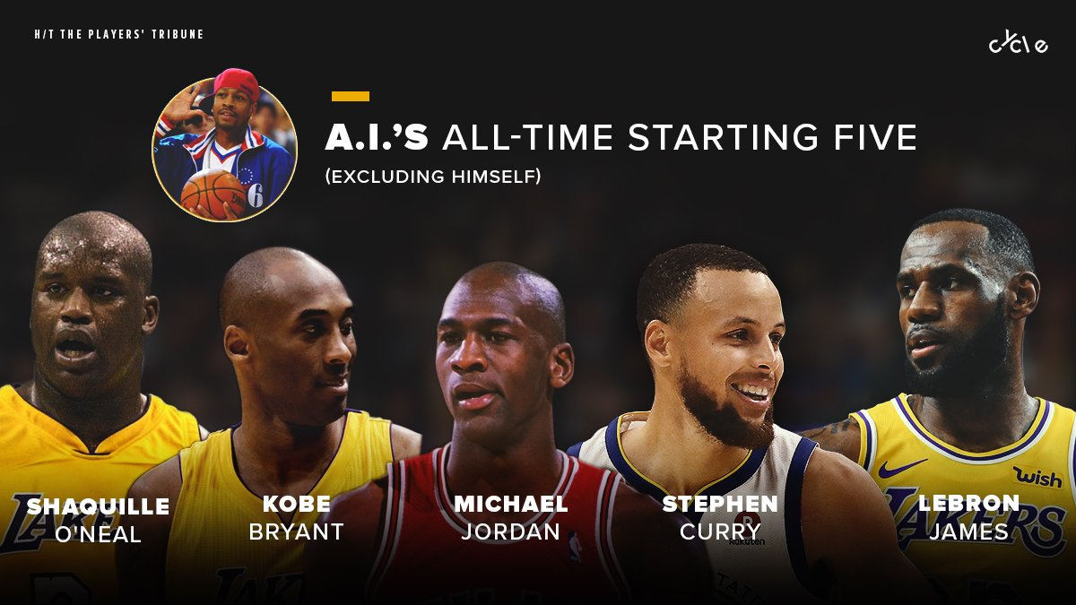 Allen Iverson&#39;s squad would be terrifying and he&#39;s not even on it  <br>http://pic.twitter.com/siniHnXajO