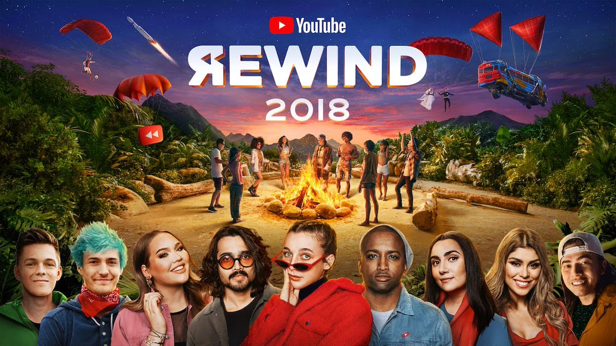 Mashable's photo on youtube rewind 2018