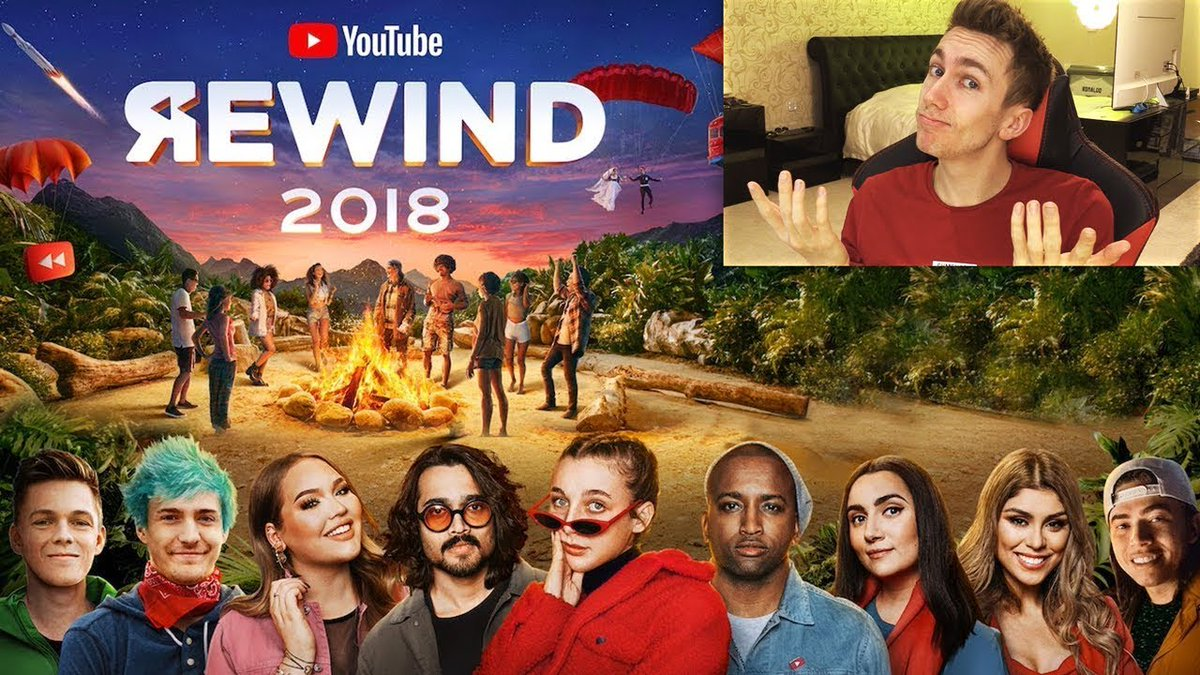 Sidemen Vids's photo on youtube rewind 2018
