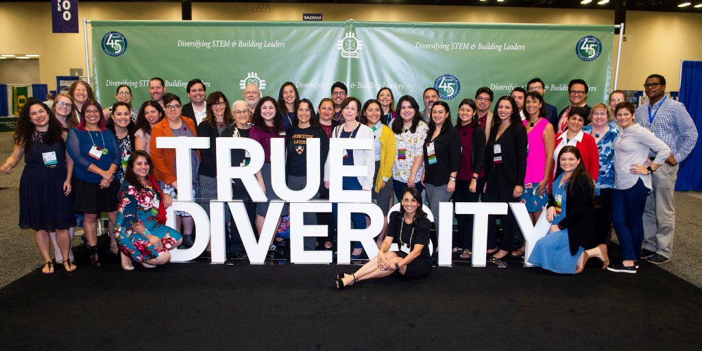 Every detail from @Astro_Ellen&#39;s opening keynote to the gender-neutral bathroom signs echoed the sentiment &quot;We are scientists, dreamers, mentors. We are #TrueDiversity&quot;  Feeling nostalgic over the #SACNAS2018 wrap-up in @DivInAction:  https:// goo.gl/DQTxR1  &nbsp;   #ThrowbackThursday<br>http://pic.twitter.com/BPhbdgy8x0