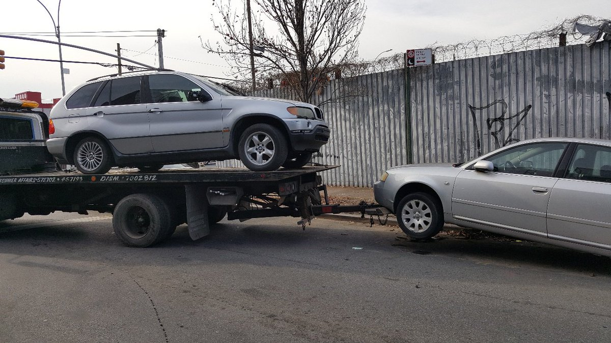 Earlier Today Dsny S Derelict Vehicle Unit And Our Sanitation Police Worked With Nypd75pct In Brooklyn To Remove A Total Of 36 Vehicles From City Streets