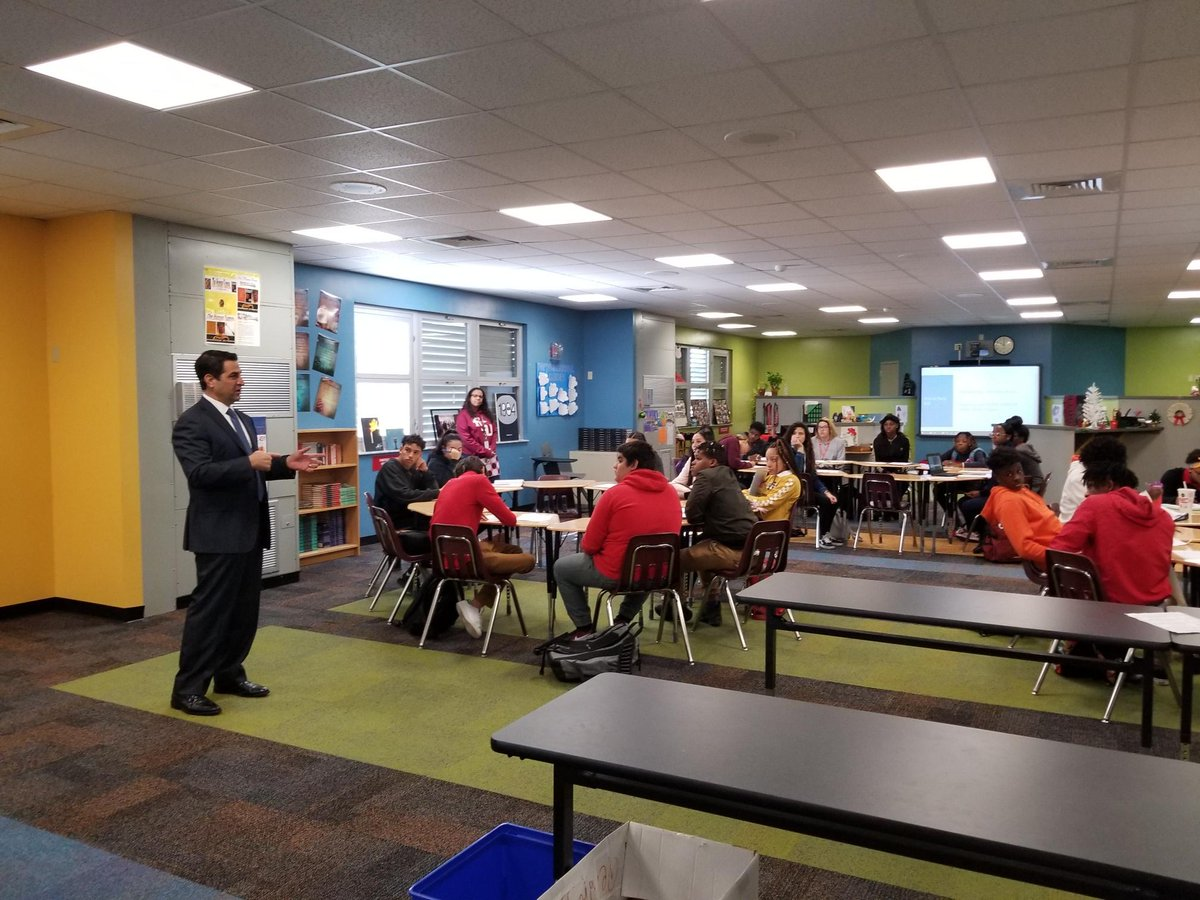 Proud to be #PrincipalForTheDay at @Southridge_SHS. Spending the day with @Hmiret78, the @MDCPS Principal of the Year. Best of the best. #PrincipalToday <br>http://pic.twitter.com/qScrKUvE1W