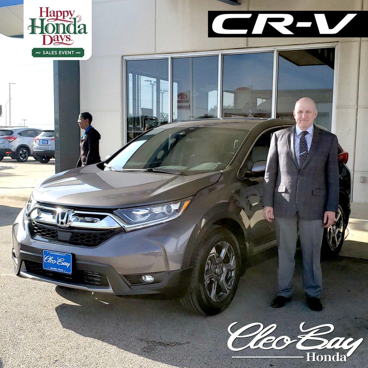 Cleo Bay Honda >> Cleo Bay Honda On Twitter Congratulations Chris On Your