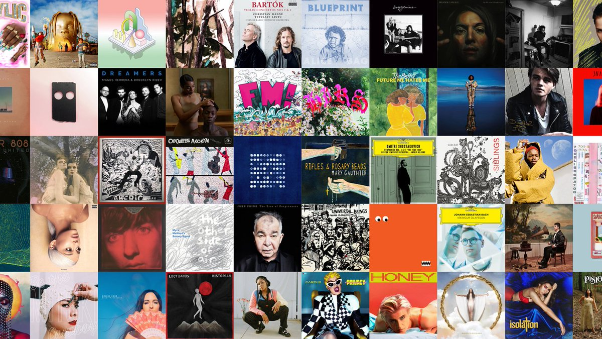 Take a listen and find a new favorite: Stream our list of the 50 best albums of 2018. n.pr/2PmdmnT