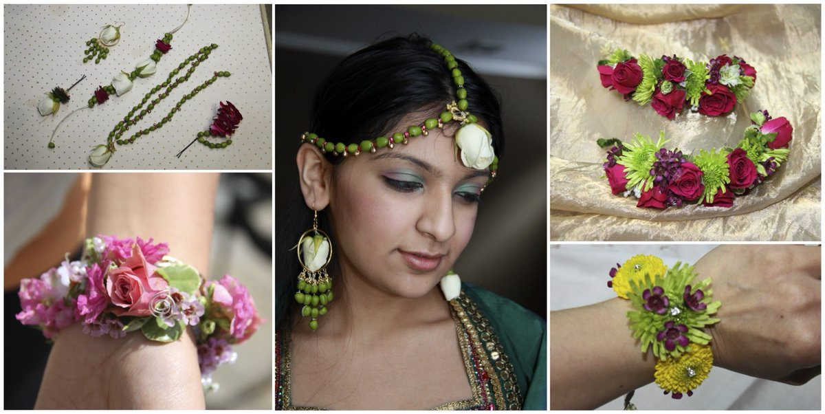 Mayuri S Floral Design On Twitter Bringing Wedding Jewelry To Life