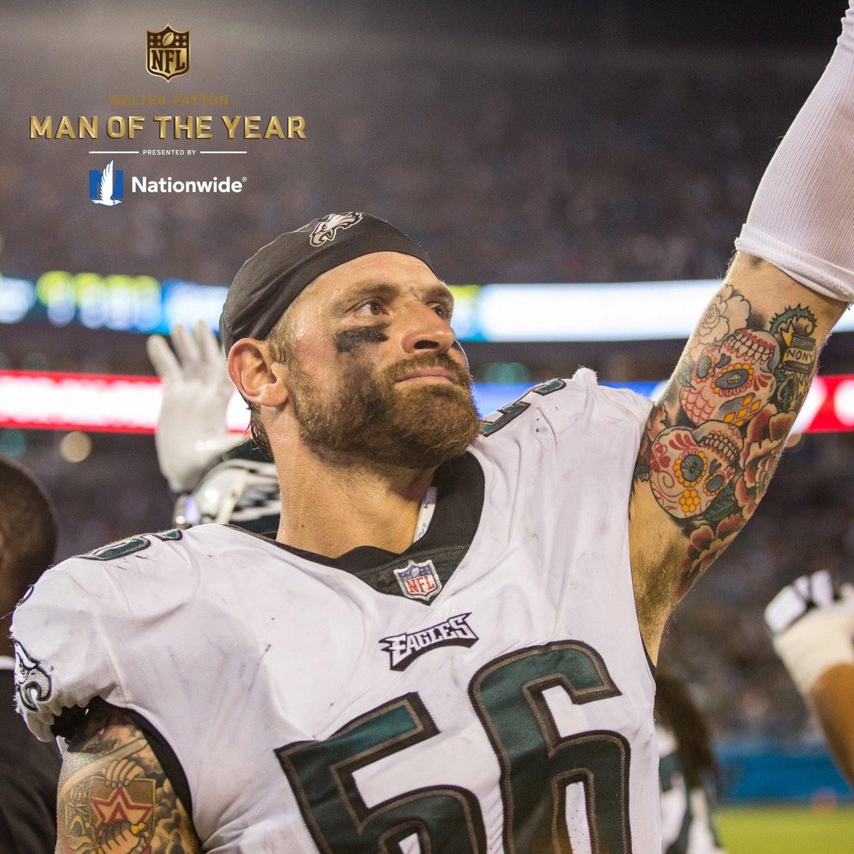 Retweet to congratulate @JOEL9ONE on being named our 2018 Walter Payton Man of the Year nominee!  @Nationwide | #WPMOYChallengeLong<br>http://pic.twitter.com/IwNCRMZ3HD
