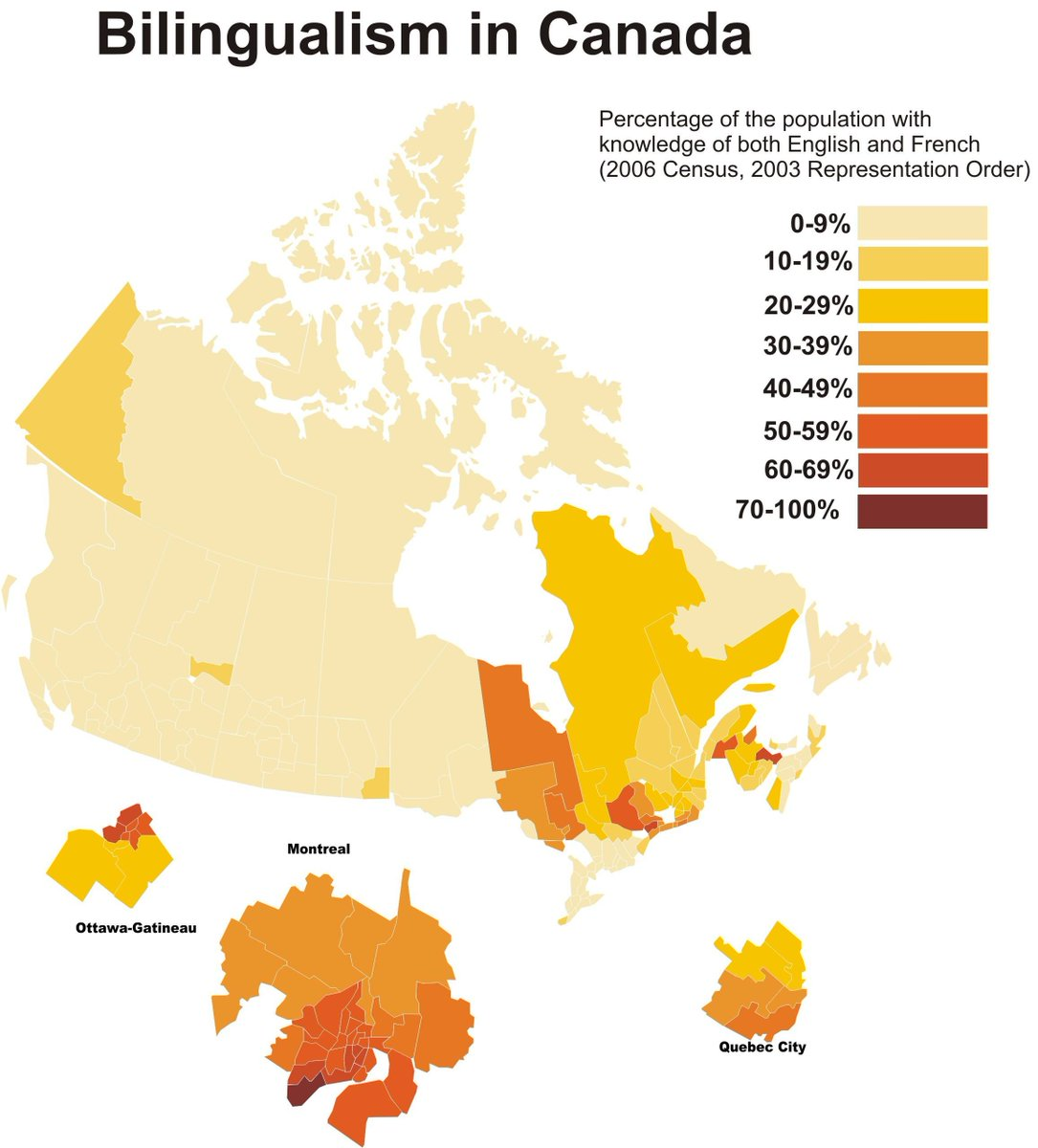 Map Of Canada In French.I Fucking Love Maps On Twitter Percentage Of People Who