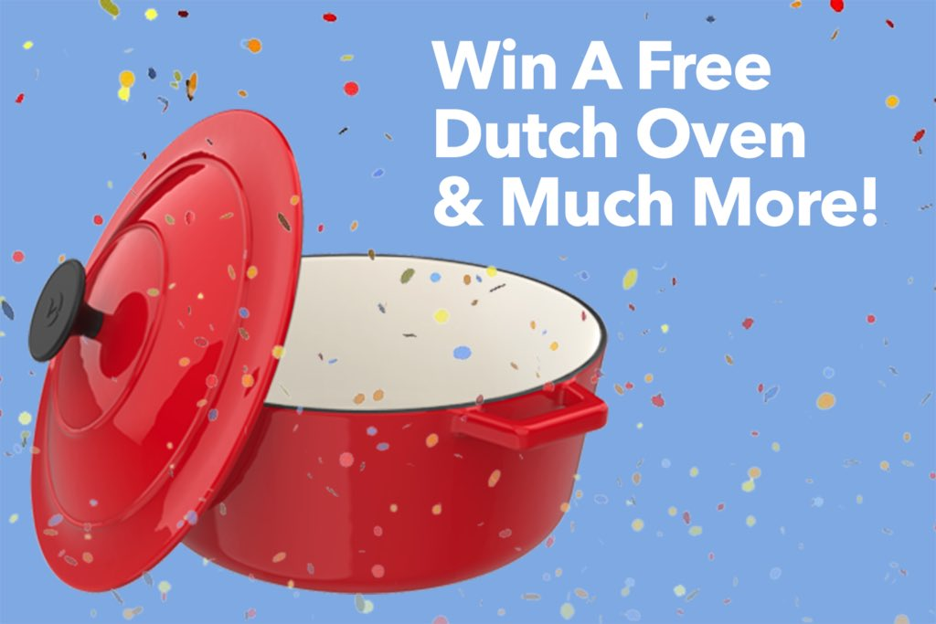 Hey you! We're giving away some Dutch Ovens...no not that kind. Sign up for shot at free Vremi goodness. https://t.co/3JY2PNywQO https://t.co/nt64LGmrD4