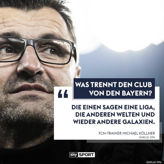 Fällt euch etwas ein, was der Club den Bayern voraus hat? #skybuli #fcbfcn Foto