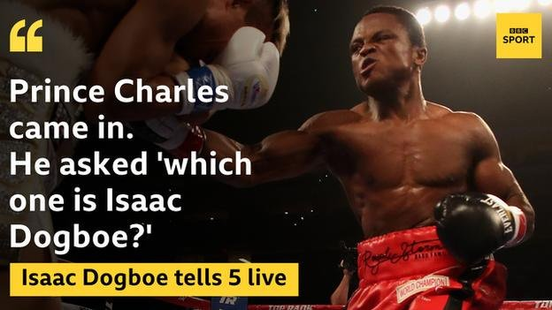 Meet @IsaacDogboe. The boxer with the incredible story and the royal seal of approval. More: bbc.in/2zKqj5Y