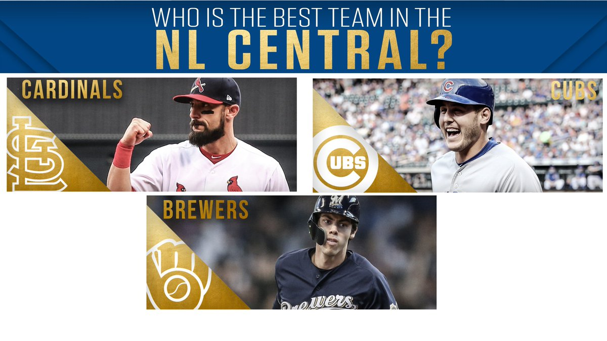 After the @Cardinals acquired 6x All-Star Paul Goldschmidt yesterday, who is the best NL Central team going into the 2019 season?