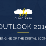 Image for the Tweet beginning: #CloudWars Outlook #2019: The Engine
