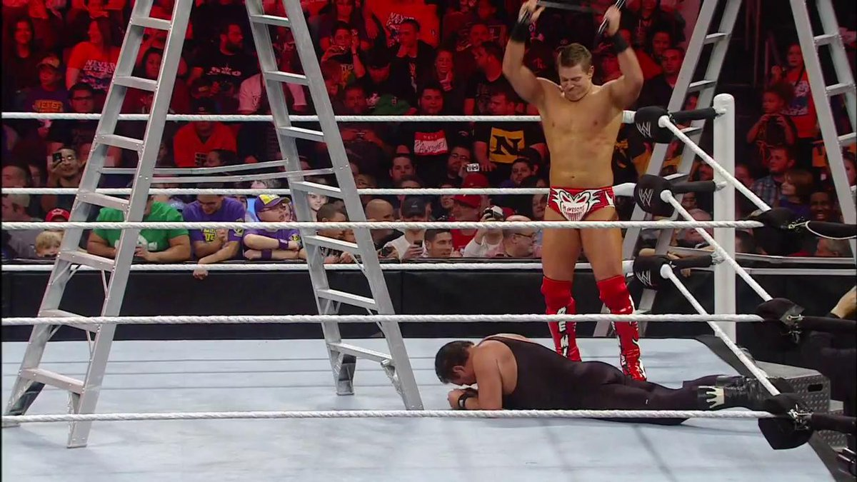 Who could forget when #TheKing @JerryLawler ventured into #WWETLC territory against @mikethemiz?