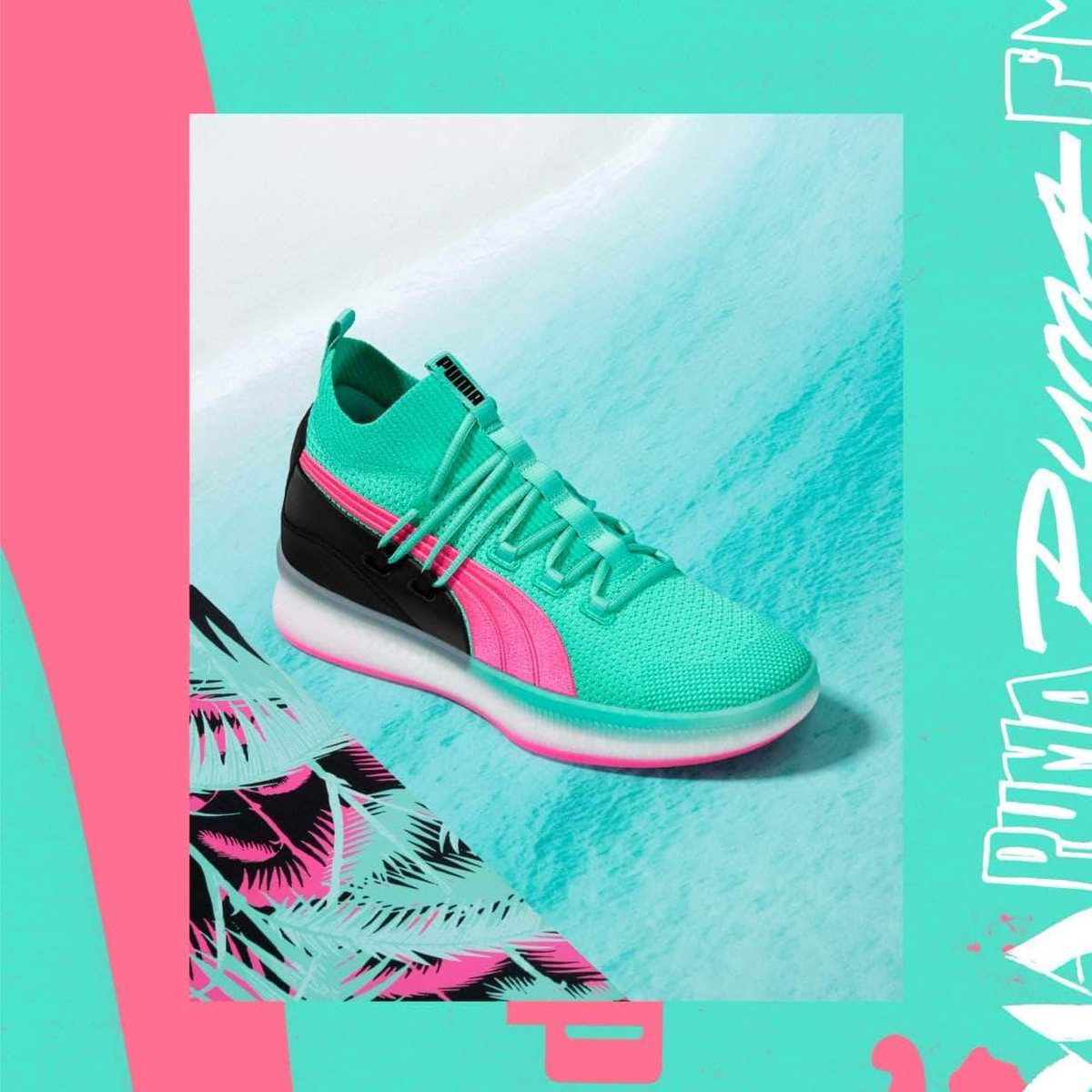 30bebee10915 Summer vibes coming in from PUMA Hoops with the new Clyde Court in