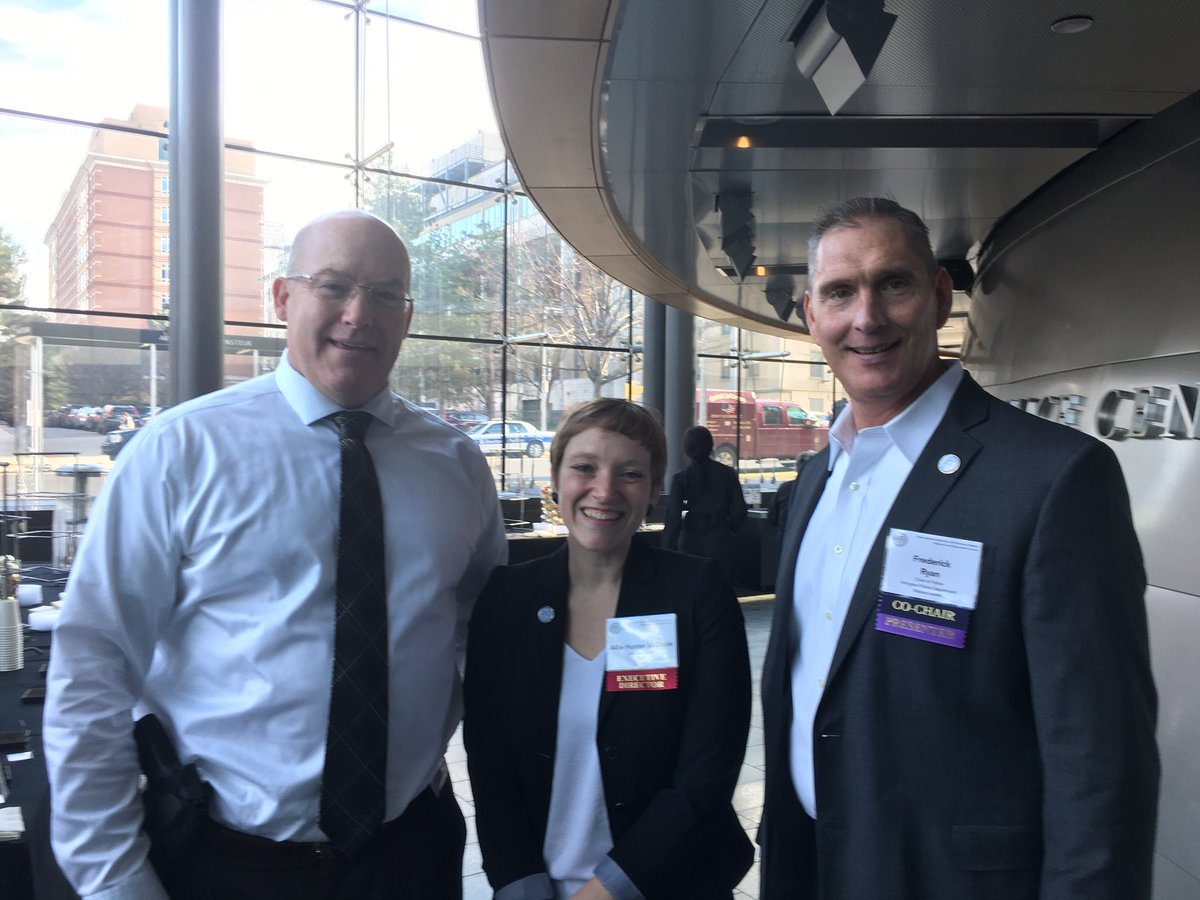Capt Tansey attended the @PaariUSA #PAARISummit2018 and is pictured here with CEO Allie Hunter McDade &amp; Chief Ryan of @ArlingtonMAPD<br>http://pic.twitter.com/cOqbkVguKU