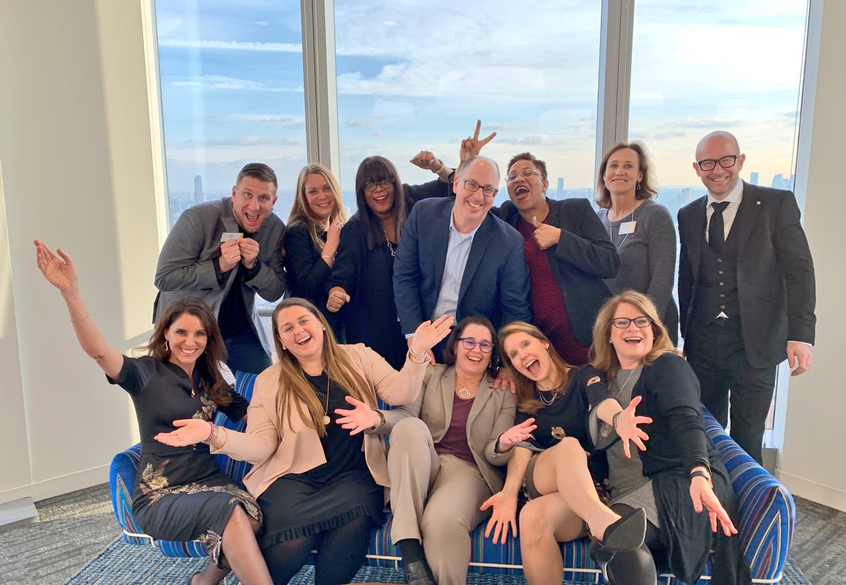 That's a wrap. An amazing and successful day briefing press, analysts and influencers on how SAP Partners are our secret sauce for helping best run companies realize the vision of becoming an Intelligent Enterprise. #SAPPartner.   High above NYC with the BEST TEAM in the business <br>http://pic.twitter.com/zK4dneIEUH