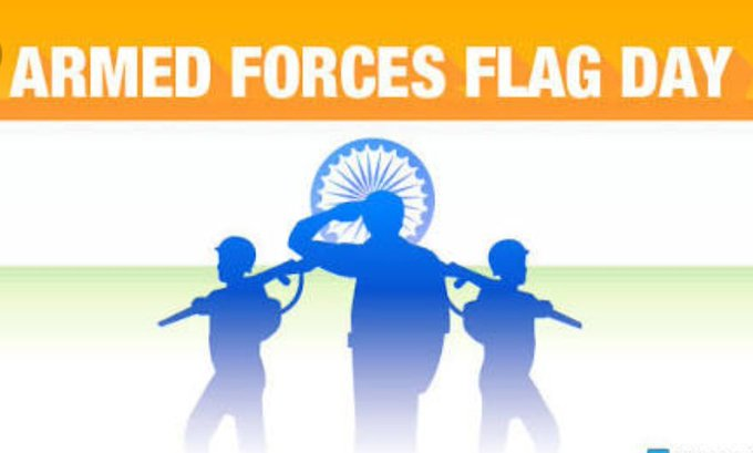 Feeling Proud 🙏🙏❤️❤️ Salute 🙏🙏 Our REAL HEROES On #ArmedForcesDay #ArmedForcesFlagDay Photo