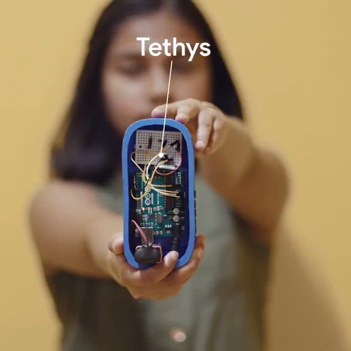 The water crisis in Flint, Michigan inspired Gitanjali Rao to use Android tech to create Tethys, a device that detects lead in drinking water. Hear from the 13-year-old inventor herself on how it works. #SearchOn