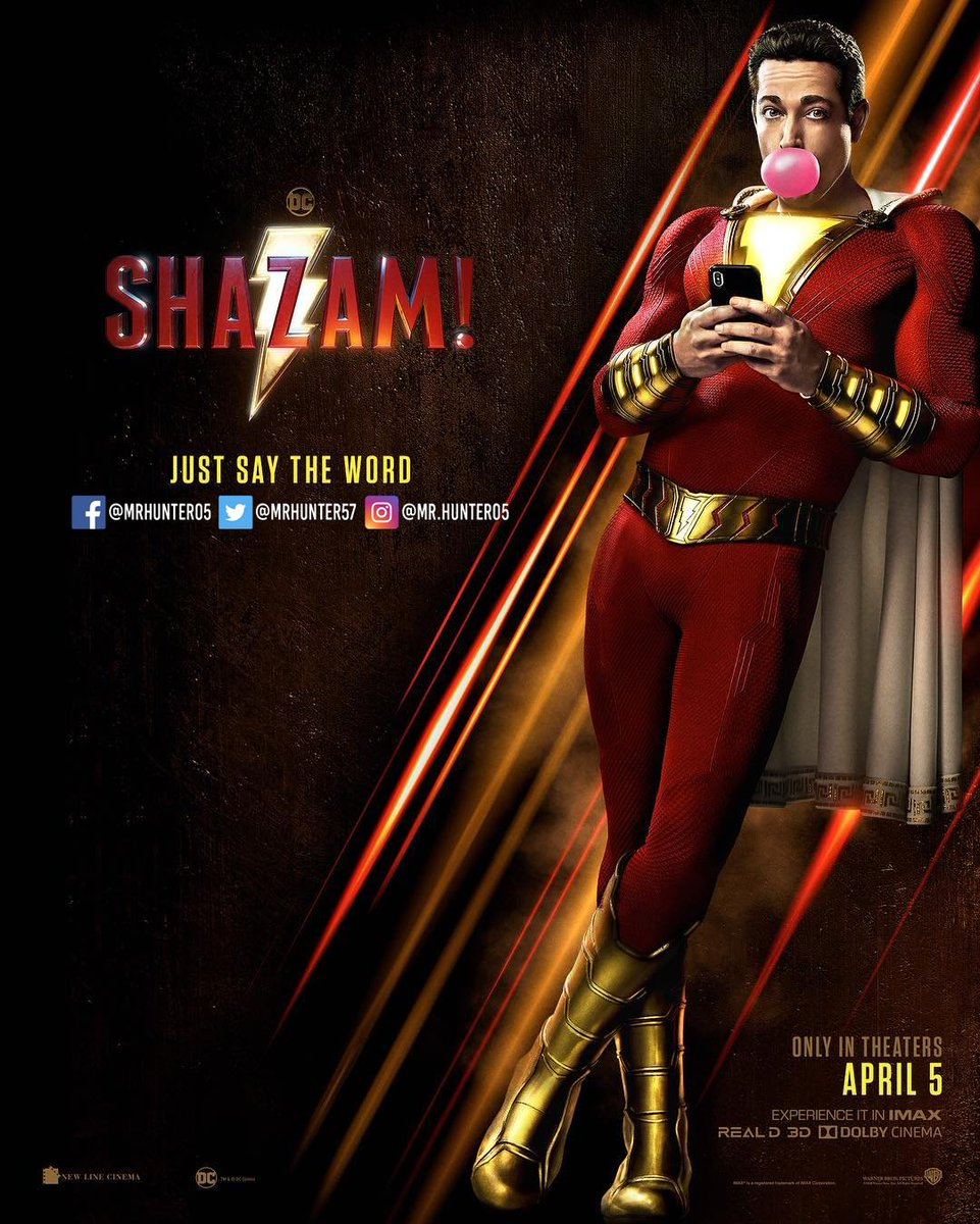 Mr. Hunter - Noticias de cómics, videojuegos y más's photo on #Shazam