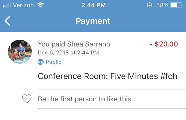 @SheaSerrano - a buddy of mine just sent me CRFM. Didn't realize I could have had you email it to me directly #FOH
