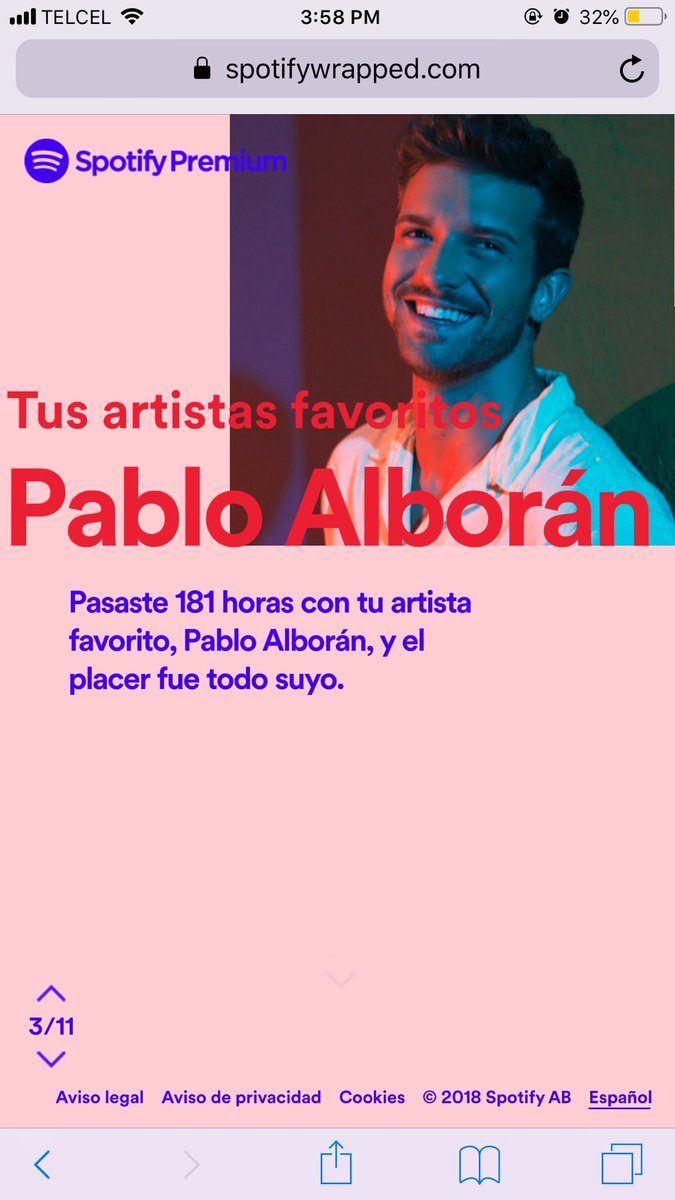 Rocio Arg's photo on #SpotifyWrapped2018