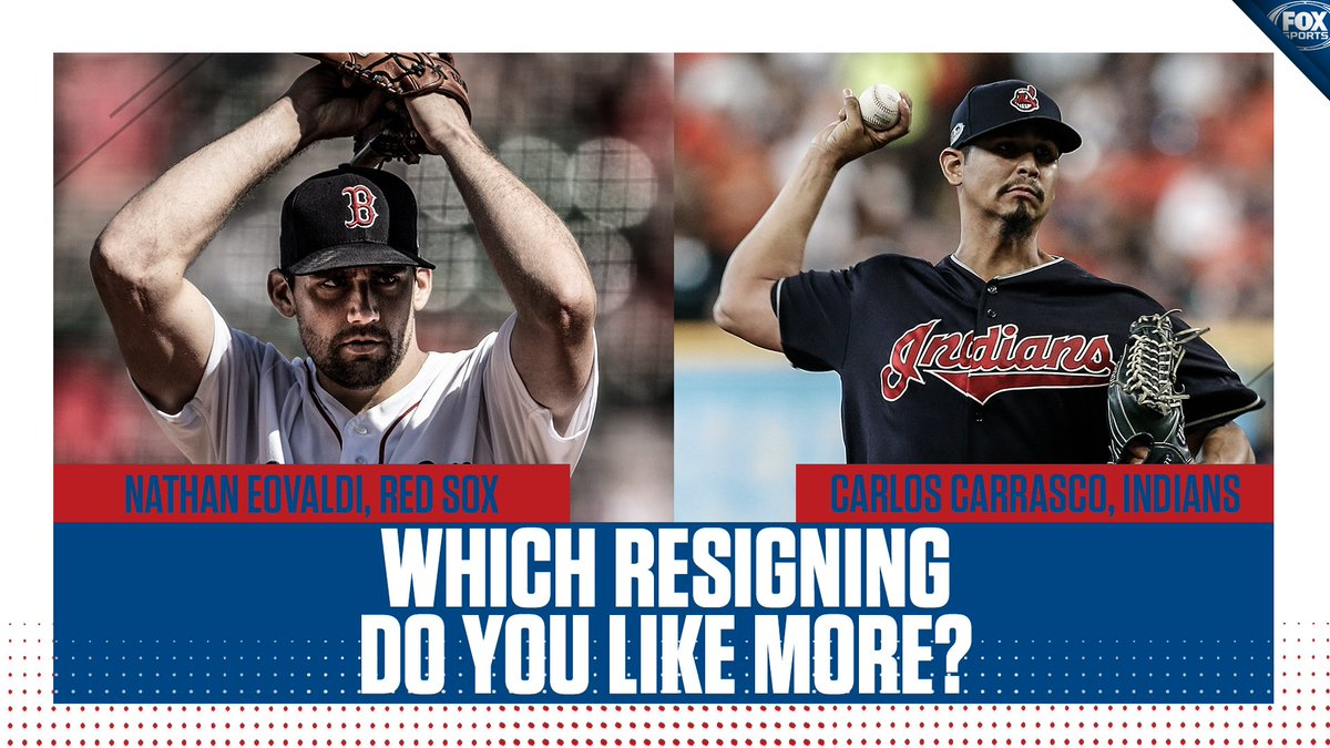 Both the Red Sox and Indians locked down pitchers for the next 4 years.  Which move do you like more?