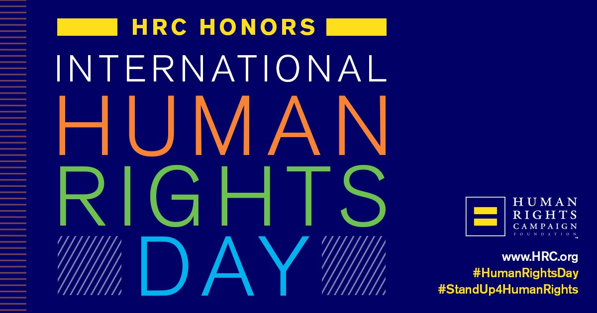 #HumanRightsDay is a time for people from all backgrounds to join in demanding that basic rights and dignity apply to every person -- regardless of their sexual orientation or gender identity. #StandUp4HumanRights https://t.co/oOPQ4vSXdh