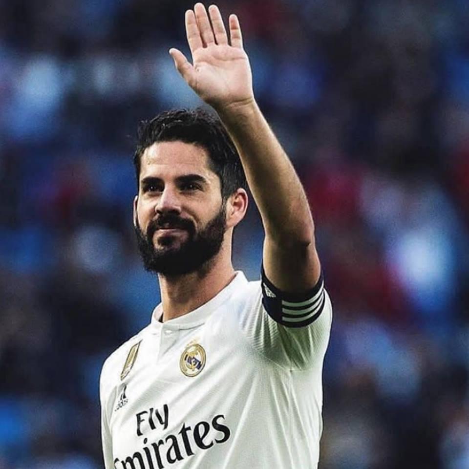 Isco Alarcón como capitán del Real Madrid.