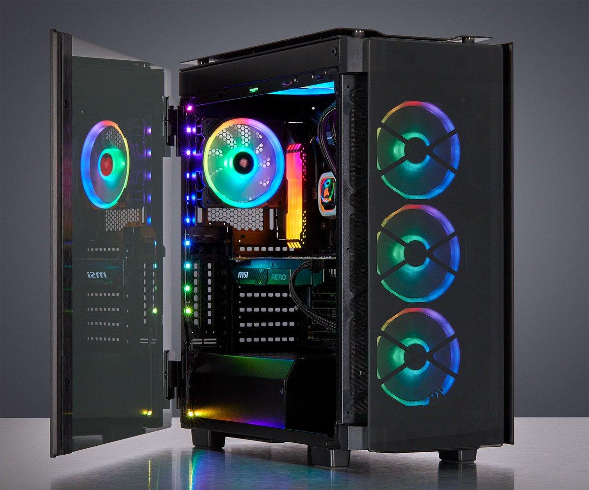 Risultato immagini per OBSIDIAN 500D PC GAMING