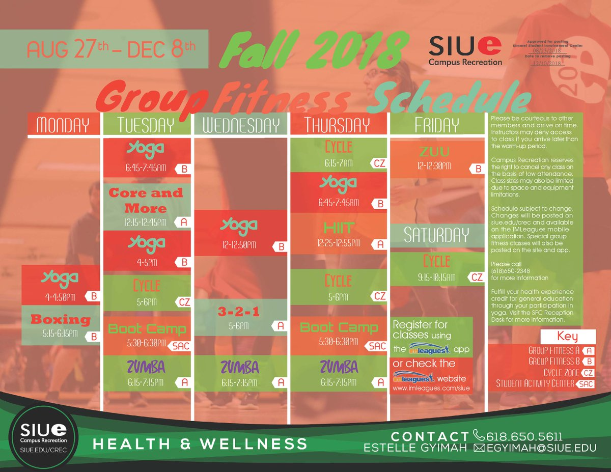 SIUE Campus Rec on Twitter: