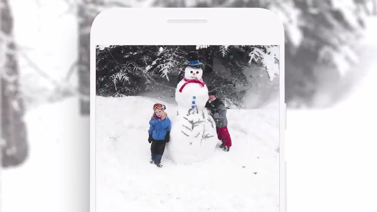 Just like snowflakes, no two moments are the same. Have room for every frame with expanded storage and more from Google One → http://goo.gl/Bnf9Wh