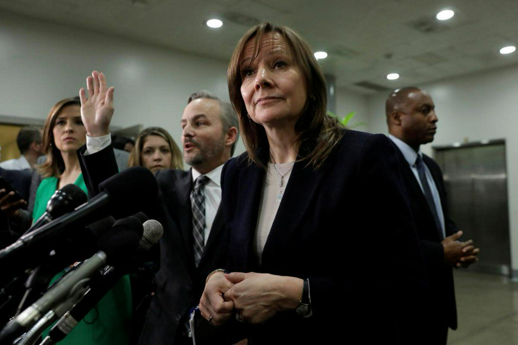 GM CEO faces harsh criticism from U.S. lawmakers over Mexico investments https://reut.rs/2RH3Xt6