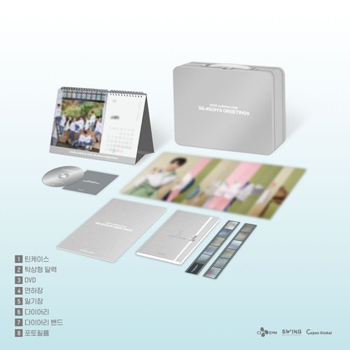 Annyeonghaseyo! PRE-ORDER  WANNA ONE 2019 SEASONS GREETINGS  SG SET ONLY - 2700php SG SET &amp; BEHINDBOOK - 3200php All in except local sf  Release Date: December 20, 2018 Pre-order Purchase Benefits: Photocard set  Please PM us to reserve or to inquire. <br>http://pic.twitter.com/u0N1Pe77gJ
