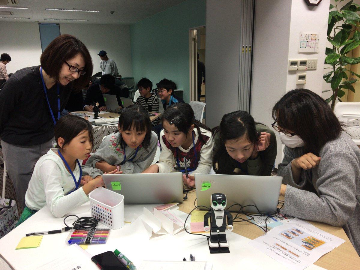 商店街のにぎわい創出!子どもたちがコミュニケーションロボットをプログラミング