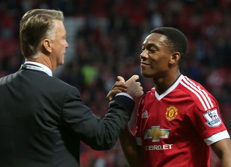 Tony Martial came from France Louis Van Gaal gave the lad a chance 50 million down the drain As Tony saves mourinho's arse again!