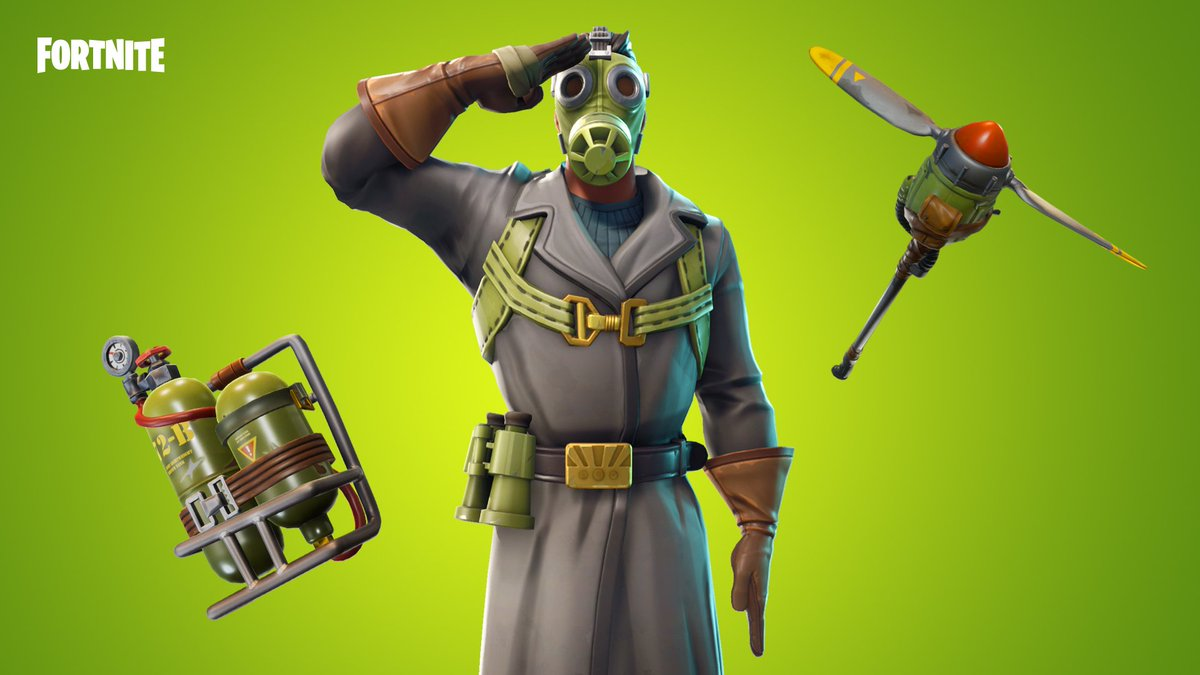 Take to the air 🛩️...or just shout to it. The Sky Stalker Gear and Garage Band Gear are in the Item Shop!