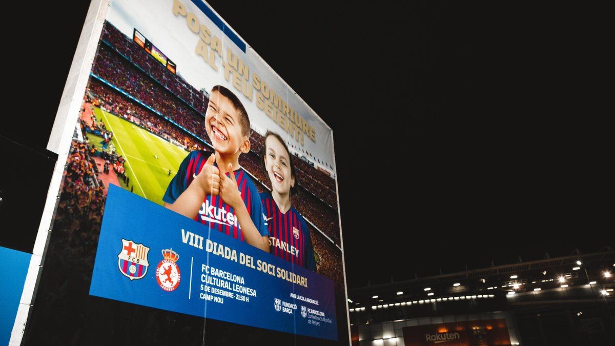 [🎬 INSIDE VIEW] The 8th Member Solidarity Day at Camp Nou. 🔵🔴 #ForçaBarça http://ow.ly/yNMc30mTvJp