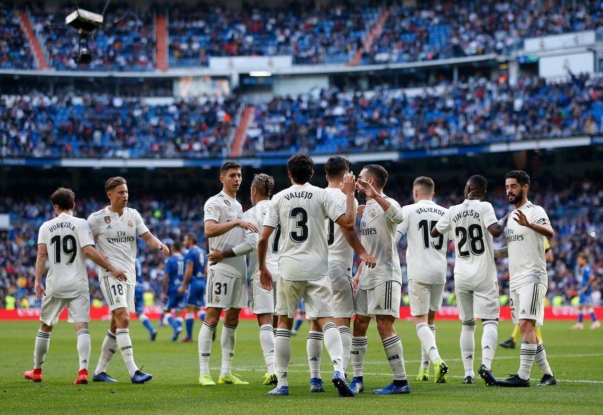 Este equipo es una piña,  una familia.   Así,  todos unidos llegaremos muy lejos 💪💪💪 @realmadrid #RMCopa #RealMadridMelilla #HalaMadrid